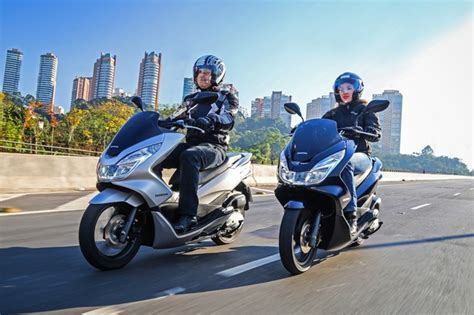 Pcx 2018 Azul by Honda Pcx 150 Ganha Novas Op 231 245 Es De Cores Para A Linha