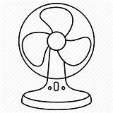 Fan Electric Summer Template Coloring Sketch Templates sketch template