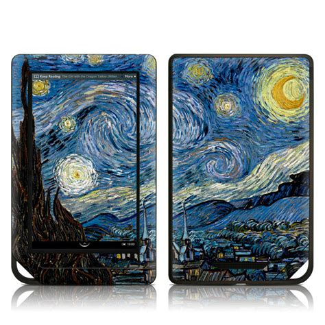 barnes and noble order status barnes and noble nook tablet skin starry by