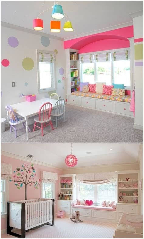 built  bookcases   window seat  kids room