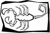 Scorpion Coloring Pages Printable Gummy Bear Block Animal Para Dibujos Dibujar Grabados Sheet Cliparts Clip Puzzle Clipart Drawing Sheets Getcoloringpages sketch template