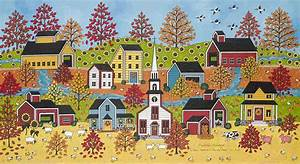 When Autumn Leaves Start To Fall Painting by Medana Gabbard