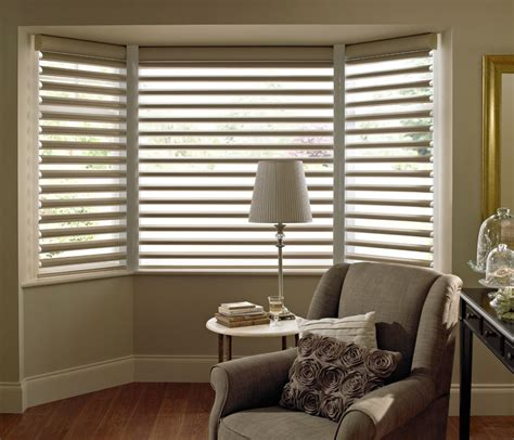 bay window blinds modern home ideas collection