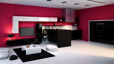 plan de maison avec cuisine ouverte deco cuisine ouverte design