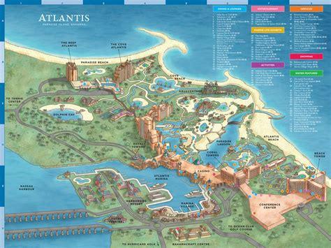 Atlantis Resort Map Maplets