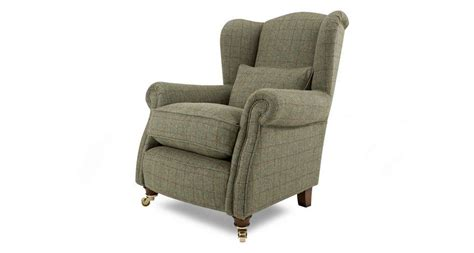 Loch Leven Harris-tweed Wing Chair Harris Tweed