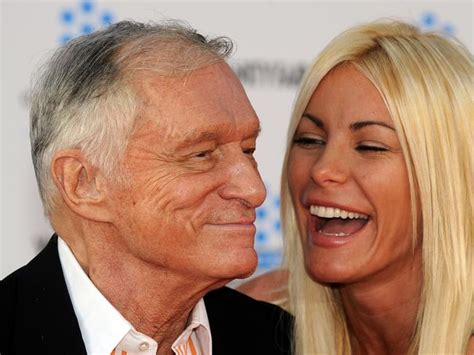 Hugh Hefner's widow Crystal Harris left out of will after ...