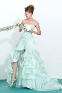 colored wedding dresses atelier aimée 2013 color wedding dresses wedding inspirasi