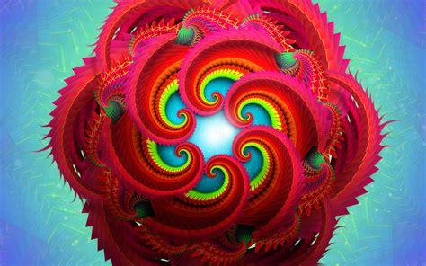 wallpaper fractals radial  abstract