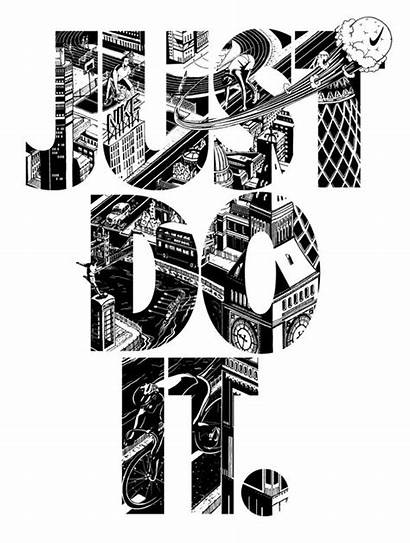 Nike Wallpapers Shoes Typography London Type Quotes