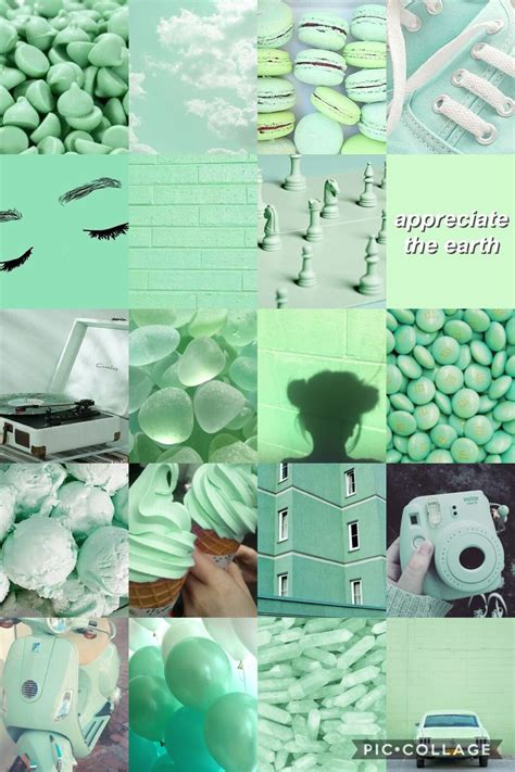 green mint aesthetic en  ideas de fondos de pantalla