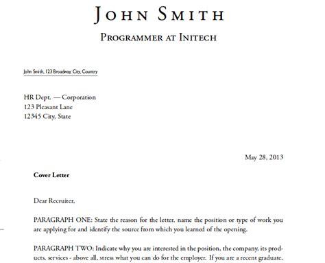 What Is An Application Cover Letter by Contoh Surat Lamaran Kerja Dalam Bahasa Inggris Untuk