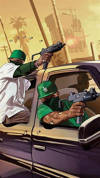 Gta Andreas San Wallpapers Theft Grand Iphone