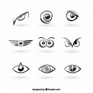 Eyes logos pack Vector | Free Download