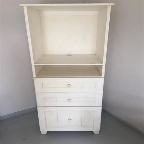 Cotton Cupboard by Cupboard Rev Using Chalk Paint Cotton Candi