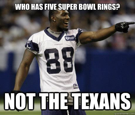 super bowl rings   texans cowboys