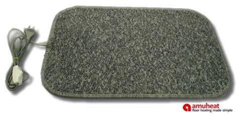 heated floor mats portable heated floor mats by amuheat floor heating