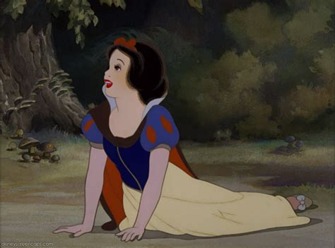 Snow White And The Seven Dwarfs Cartoon Image Wallpaper