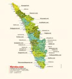 Kerala map- The complete guide on kerala