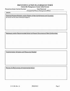 15 best images of strategic planning action plan worksheet With preventive action plan template