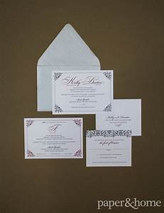 Black and red wedding invitations kelly and dustin for Kelly paper wedding invitations