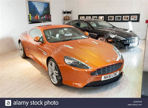 Stratstone Mayfair Aston Martin Dealership Stock Photos