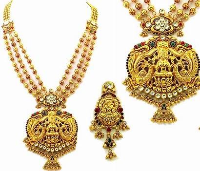 Jewellery Gold Indian Designs Temple Jewelry Necklace