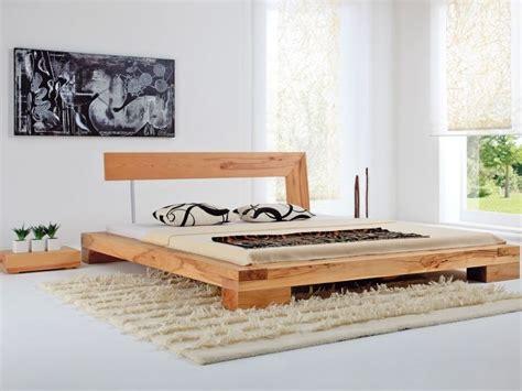 Bedroom Design Wood Bed by Balkenbett Haineck Modern Wood Bed Designs Diy