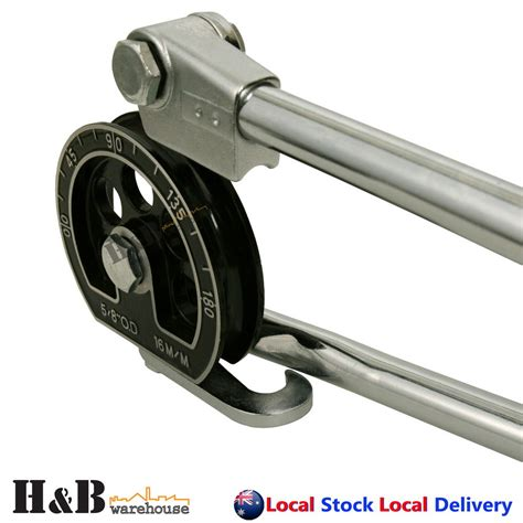 Hd 16mm 58 Tube Bender For Plumbing Refrigeration Copper Alumiunm Pipe 689247262565 Ebay