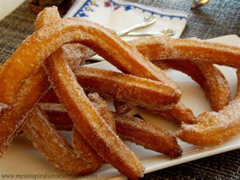 recette de churros espagnols facile  rapide le blog