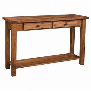 Farmhouse Collection Sofa Table Amish Crafted Furniture