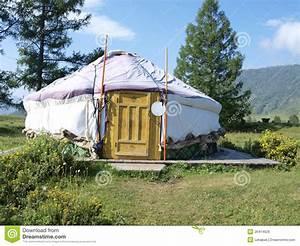 Traditional Yurt Royalty Free Stock Image - Image: 26414626