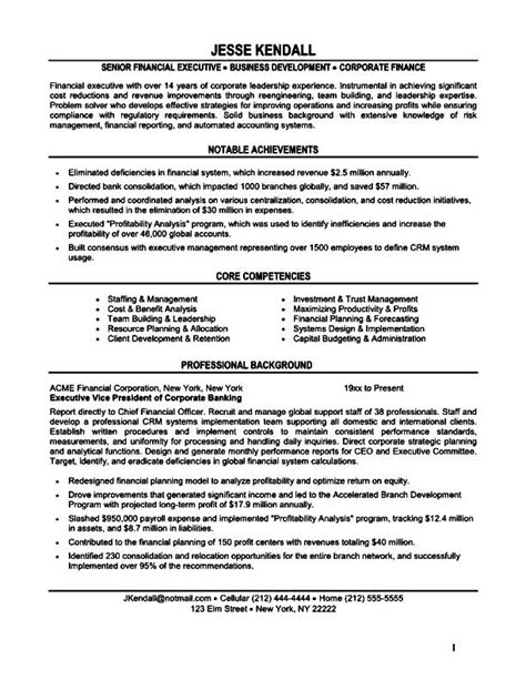 purchase executive resume