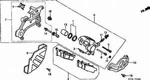 Honda Cr250ry 2000 Rear Brake Caliper Supplied Next Day