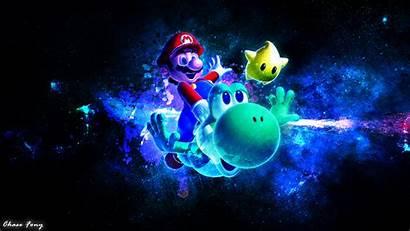 Mario Galaxy Wallpapers Desktop Backgrounds Fan Wide