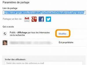 googledrive pour les docs With partage de documents google drive