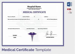 Sample medical certificate 33 download documents in pdf for Dr certificate template