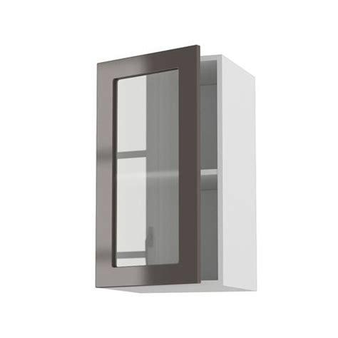 porte element de cuisine meuble cuisine mural 40cm 1 porte vitree 40 70 achat