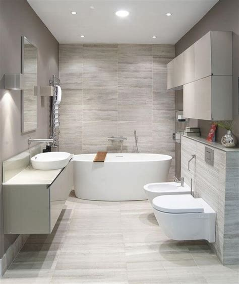 Modern Bathroom Marble Tile by Beautiful Modern Bathroom Designs With With Soft And