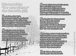 Wann Fällt Der Erste Schnee : wintergedicht der erste schnee f g ll ~ Lizthompson.info Haus und Dekorationen