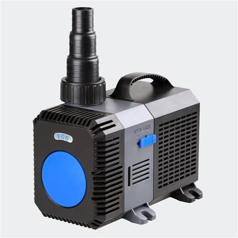 pompe uv pour bassin exterieur aqua center trading pompe multi fonction eco 16000 l h