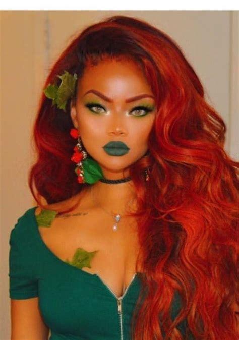 inspiring halloween costume ideas  women black girl halloween costume poison ivy