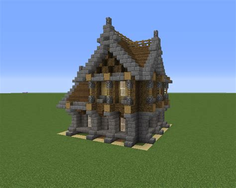 small medieval house  grabcraft  number