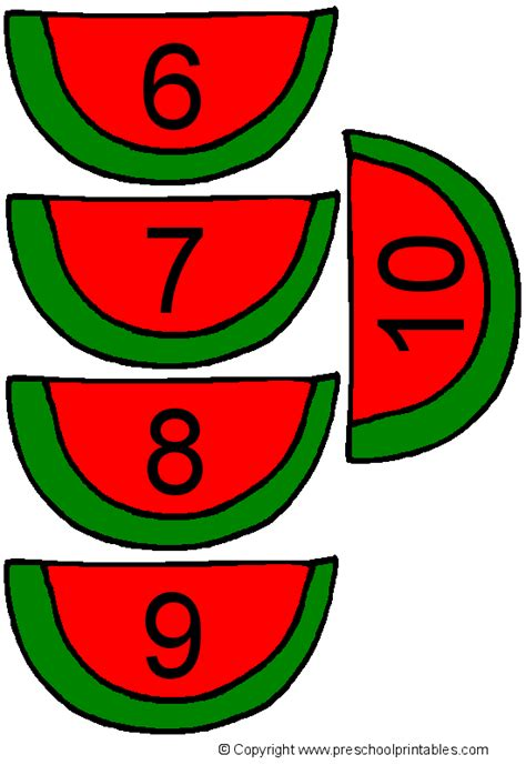 It is especially designed for the fans of haikyuu. www.preschoolprintables.com / File Folder Game/ Watermelon ...