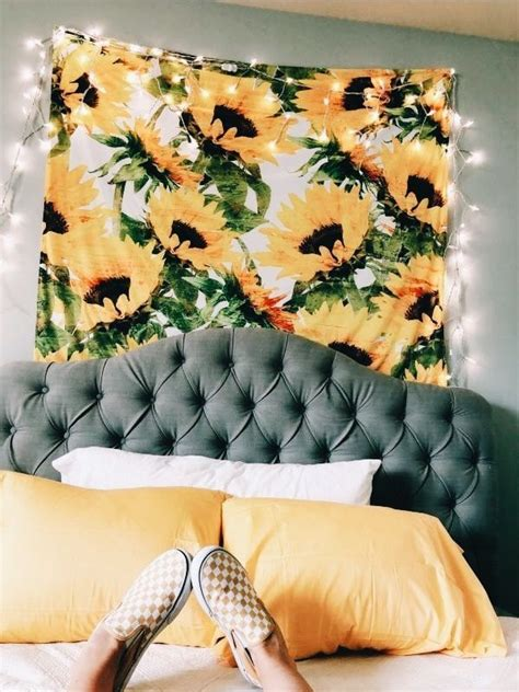sunflower bedroom ideas sunflower room dorm