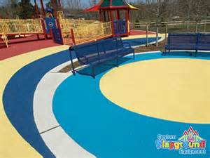 poured in place rubber playground surfacing call for a