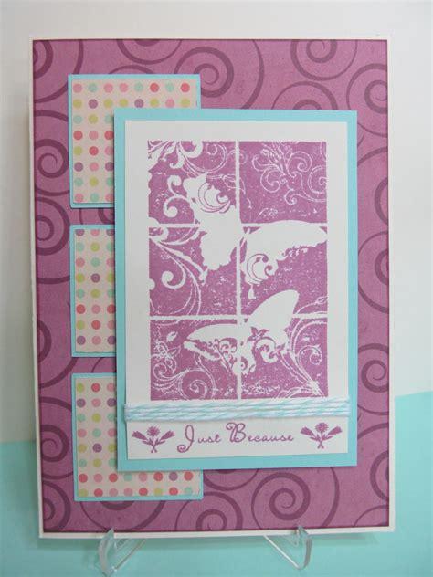 savvy handmade cards butterfly   card
