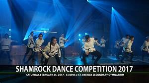 Shamrock Dance Competition 2017 – Saint Patrick Regional ...