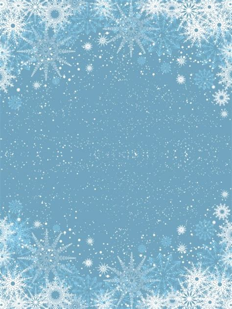light blue snowflakes snowflakes on light blue background vector free