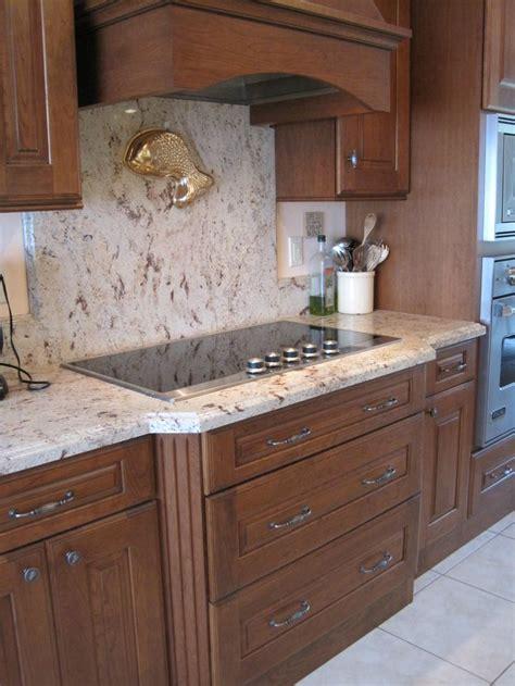 granite backsplash full height   cooktop